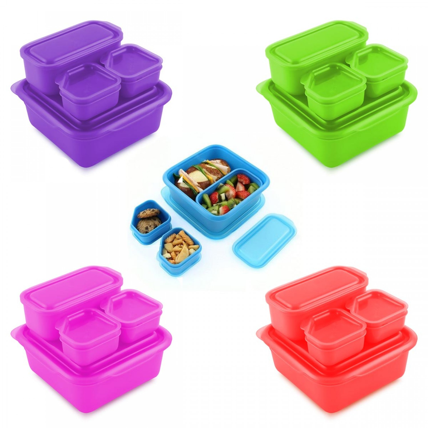 Goodbyn Portions Lunch Box Set mit Portionsschalen