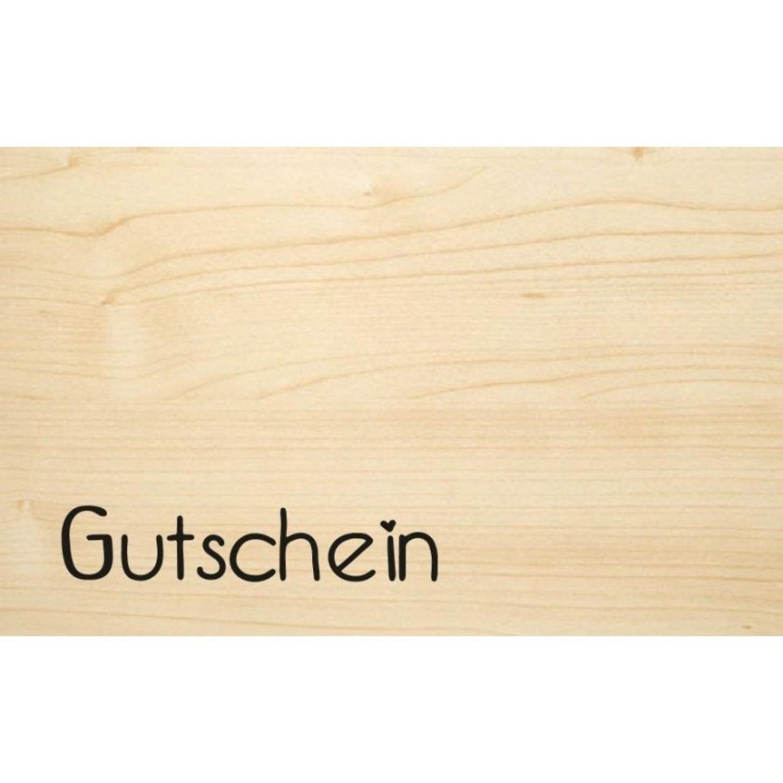 Voucher eco wooden postcard | Biodora