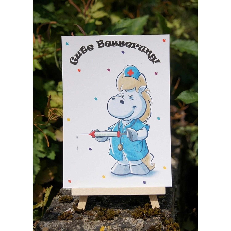 Postkarte - Grüße und Wünsche - Gute Besserung