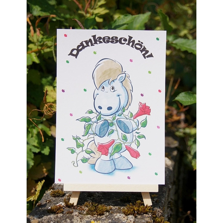 Postkarte - Grüße und Wünsche - Dankeschön