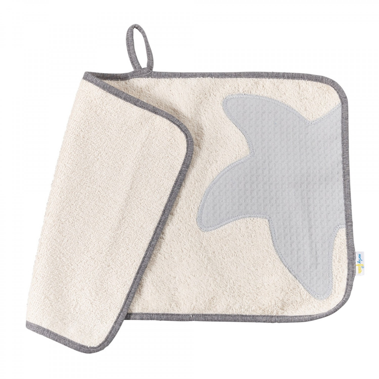 Organic Cotton Guest Towel Classic Natural | early fish