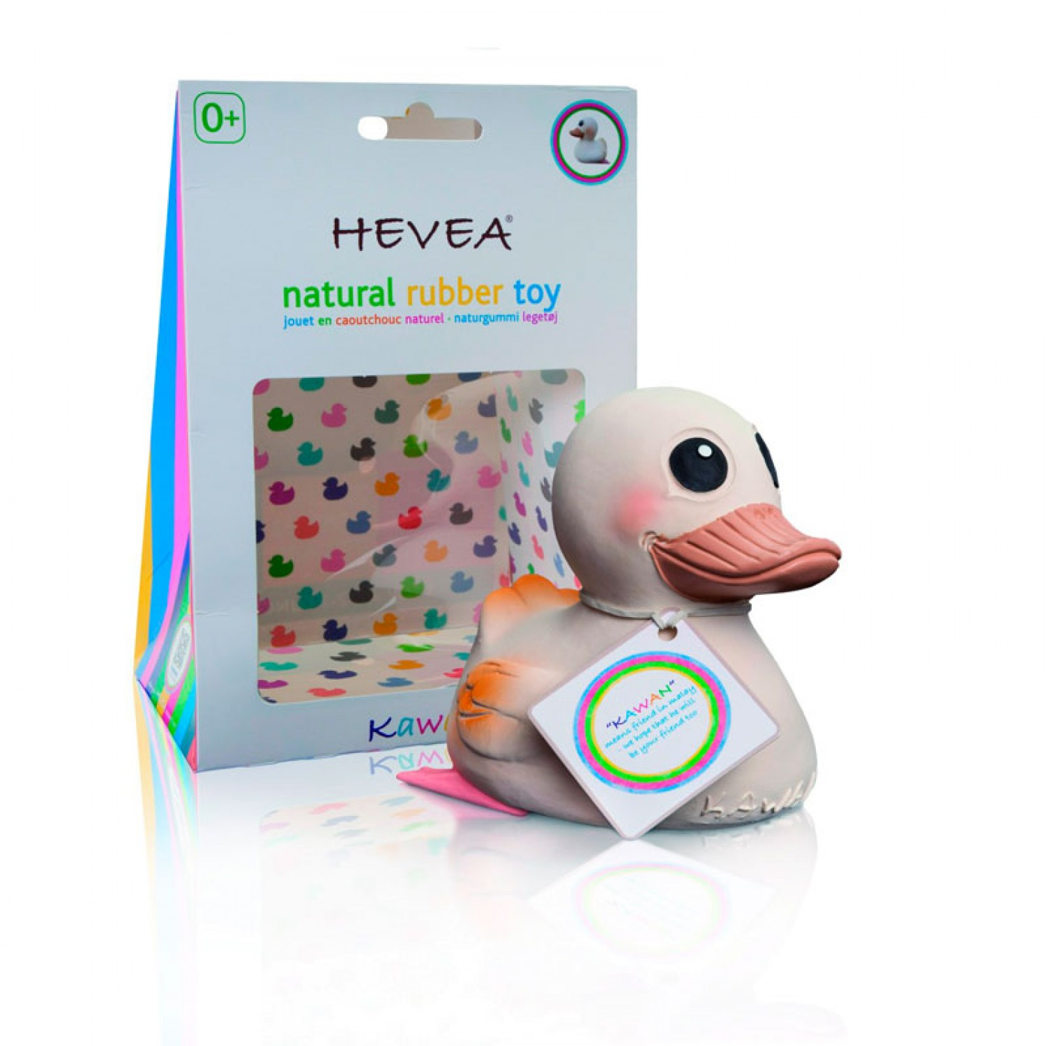 Hevea KAWAN Playing Teething Bathing Duck Toy