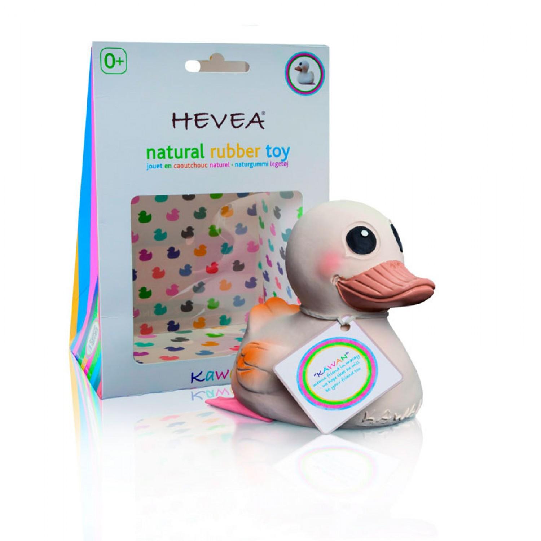 Hevea KAWAN Mini Bath Toy and vegan Teething Aid