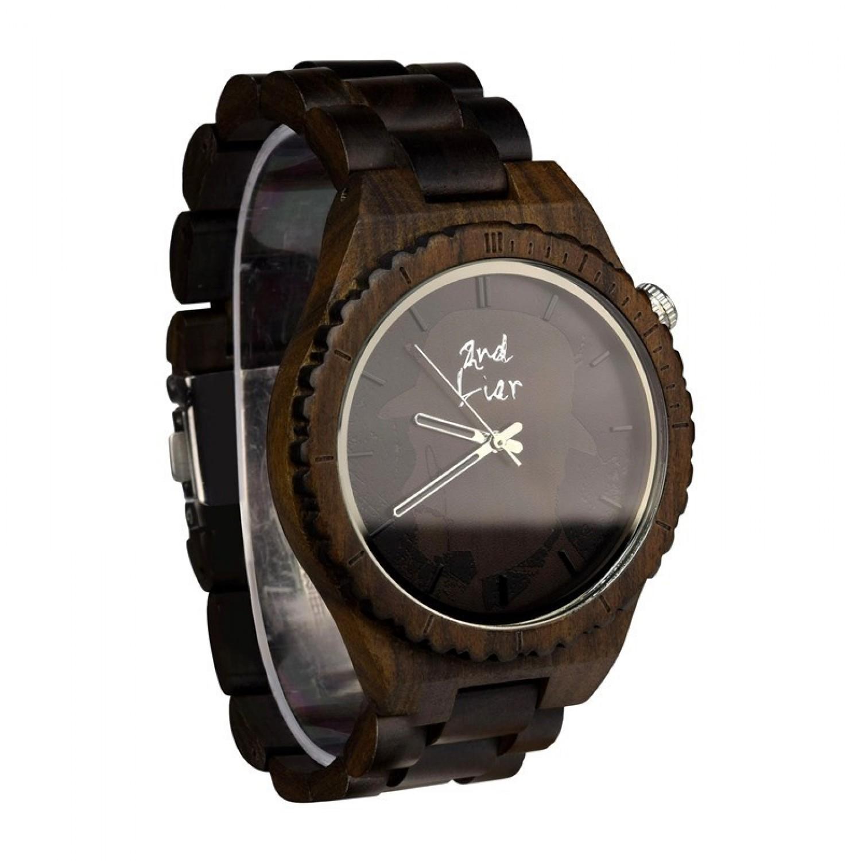 Herren Armbanduhr aus Sandelholz