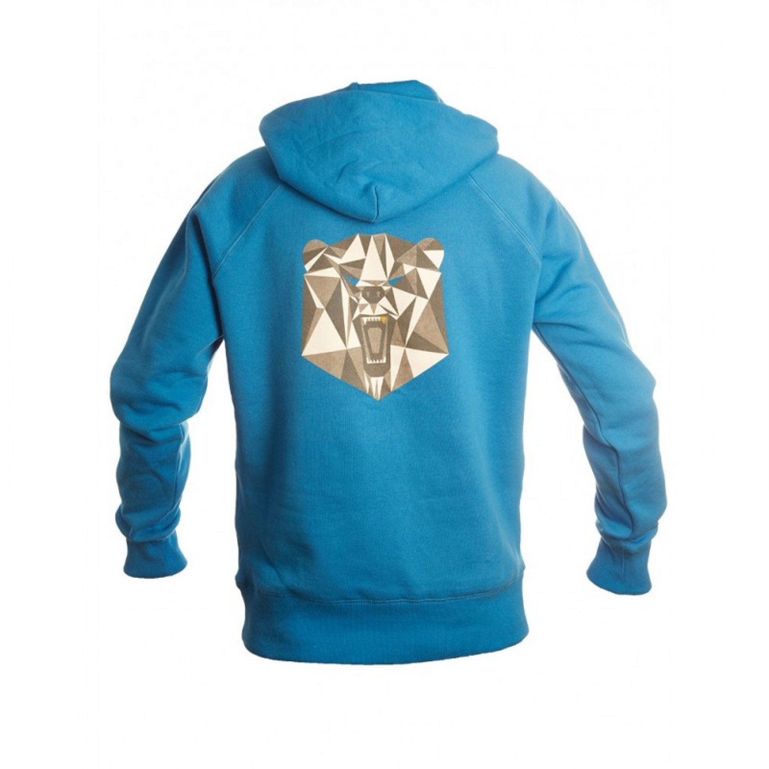 Men Hoodie Organic Cotton Bear with Gold Tooth | rockt