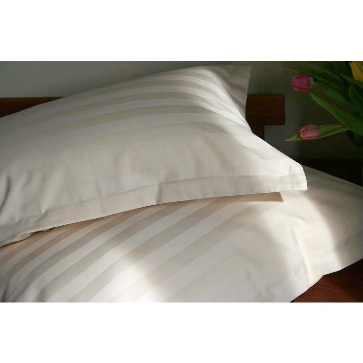 "Pillowcase ""Classic Stripes"" made of organic cotton 