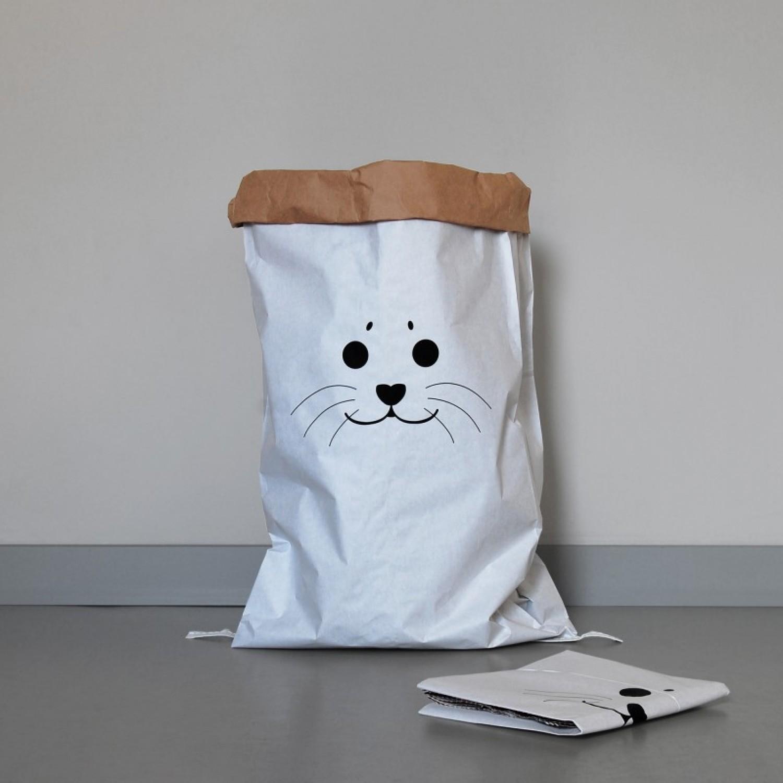 Paper Bag SEAL made of waste paper | kolor