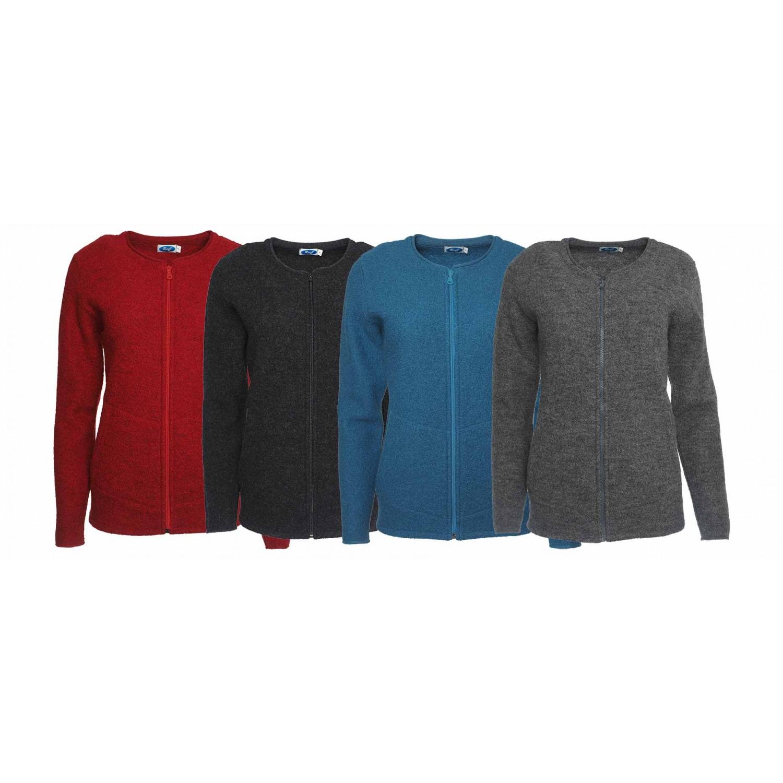 Women Crepe Full Jacket – Organic Wool Jacket | Reiff