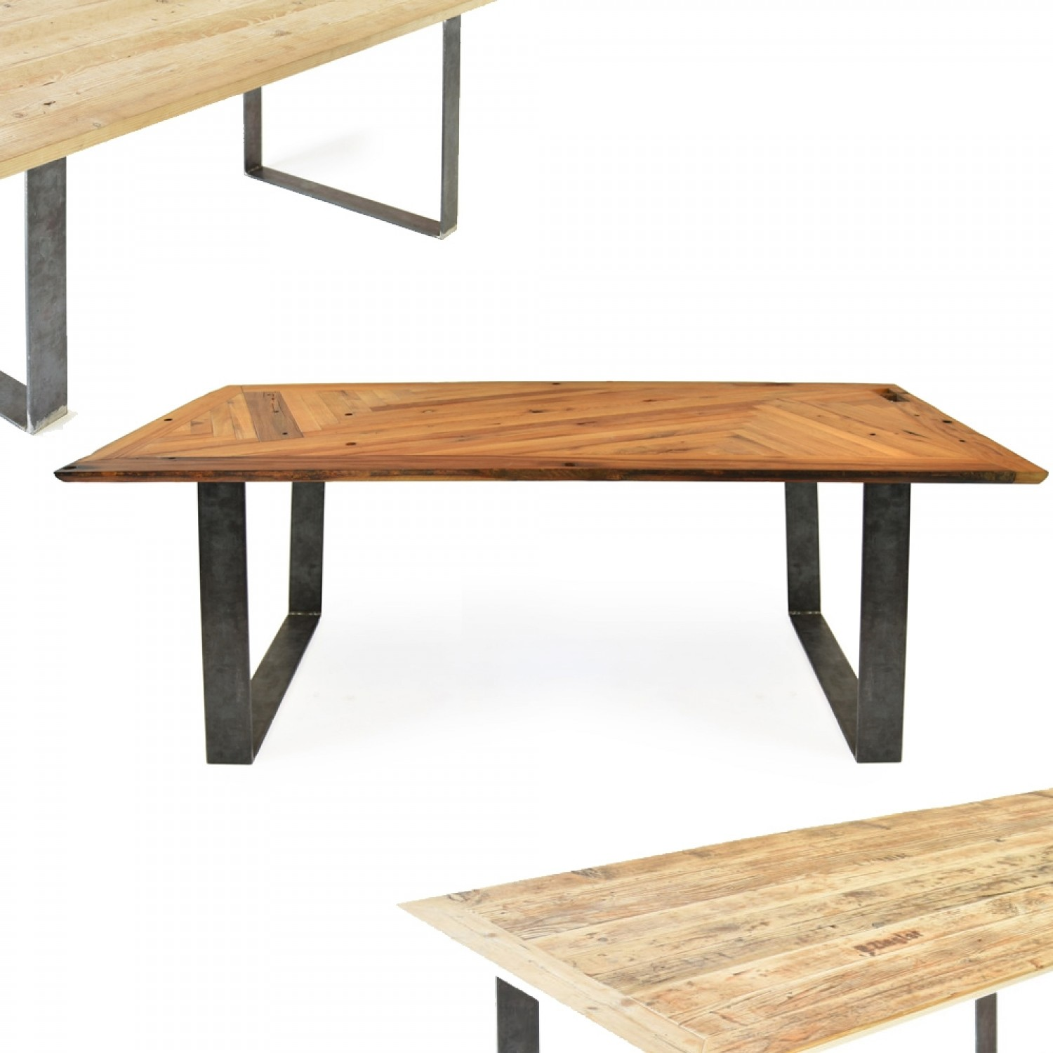 lignaro. upcycled wooden table with magnetic legs 1 | reditum