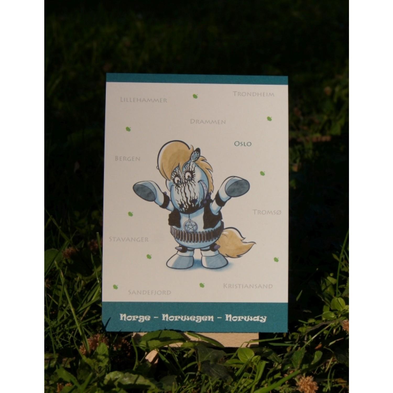 Postkarte - Weltreise - Norwegen