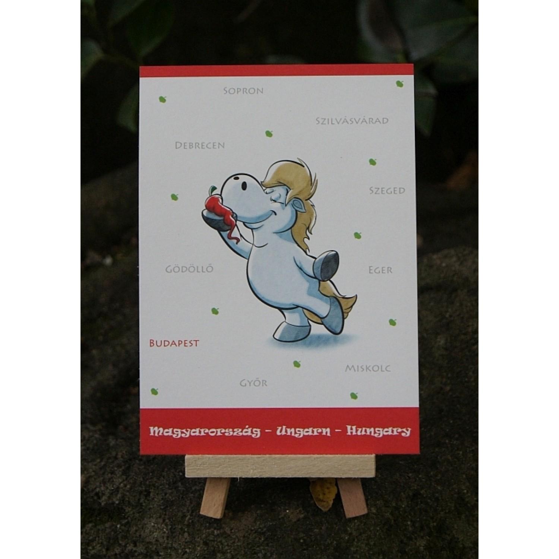 Postkarte - Weltreise - Ungarn