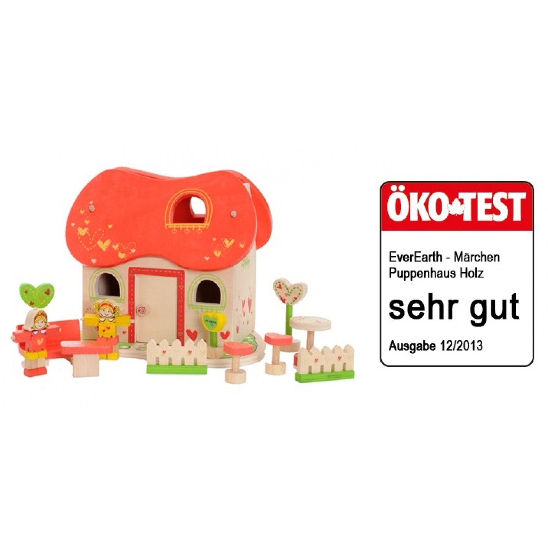 Märchen-Puppenhaus aus FSC® Holz | EverEarth