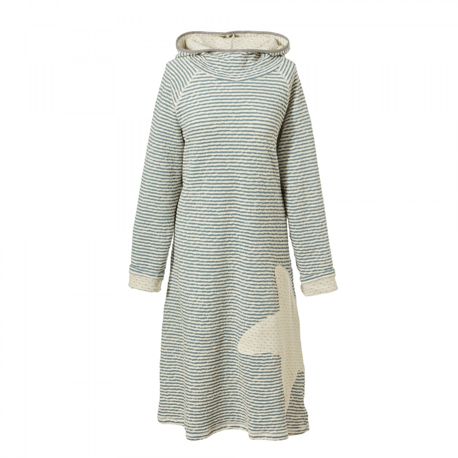 Maritime Beach Dress with Hood - Eco Cotton | early fish