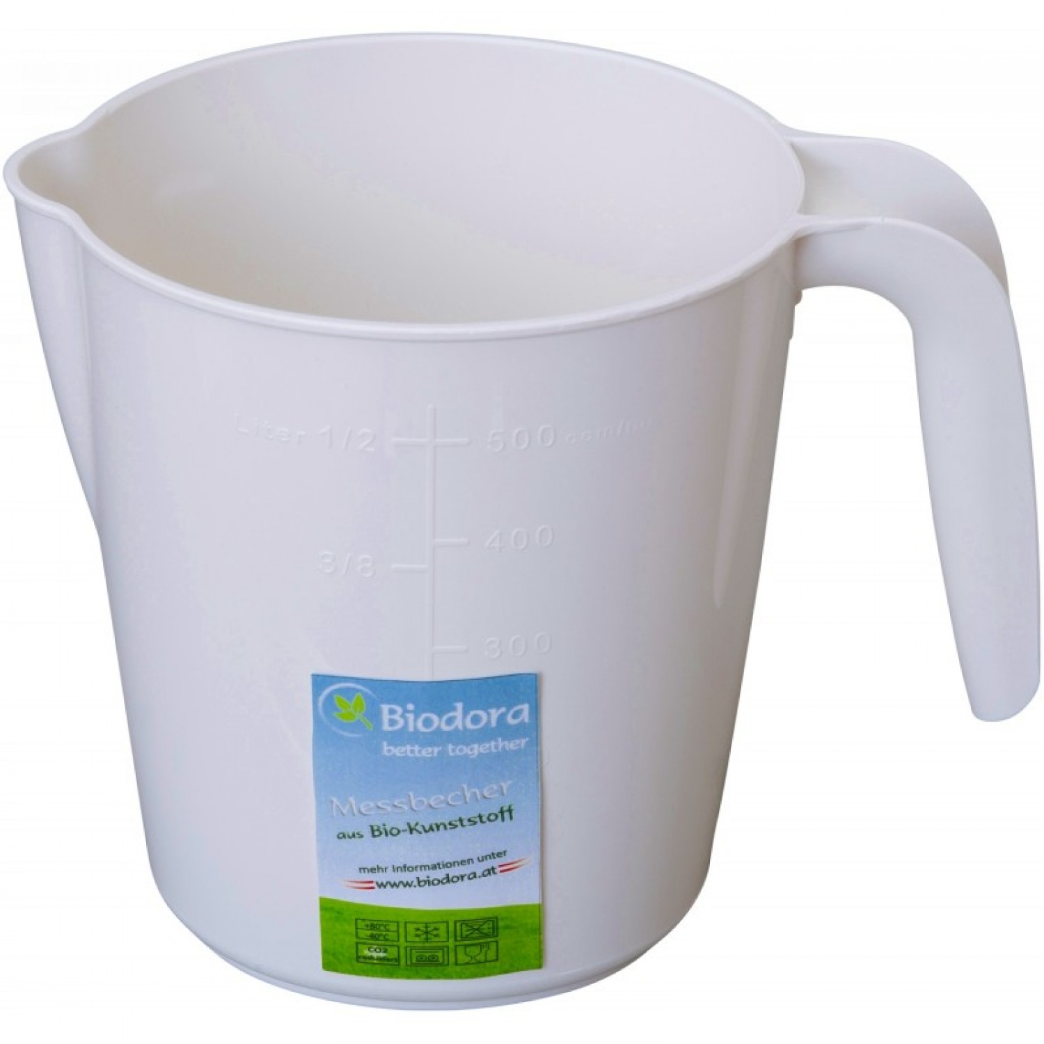 Measuring Cup 1 L of bioplastics | Biodora