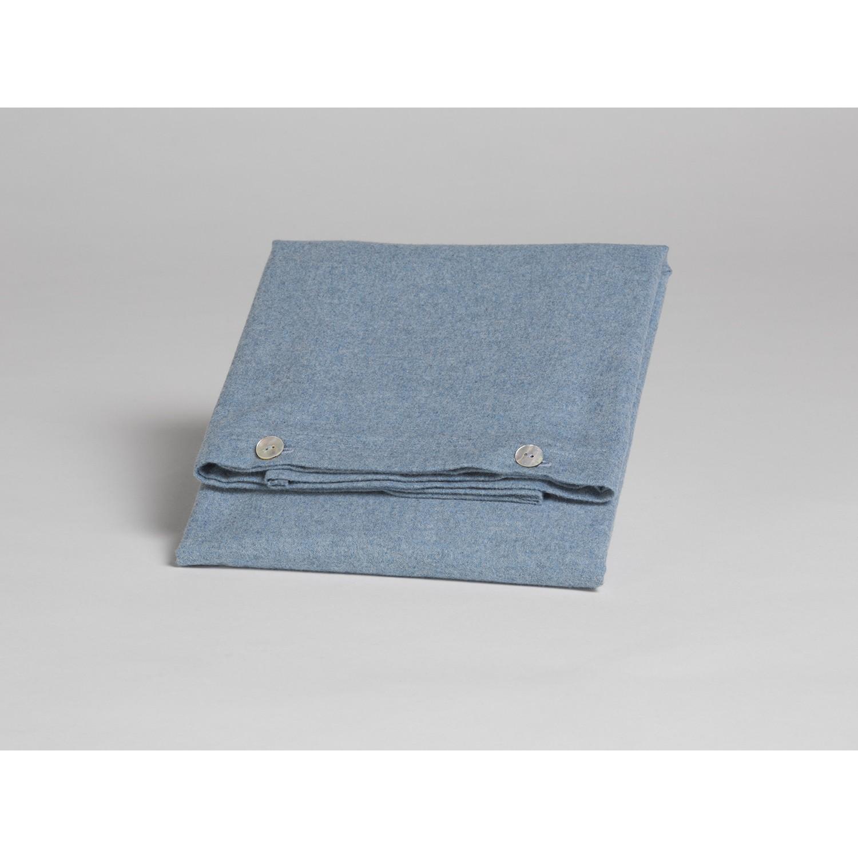 Kissenbezug Velvet Flanell Light Blue