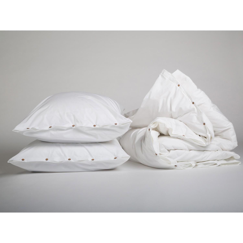 Bettwäscheset Perkal 300tc Pure White