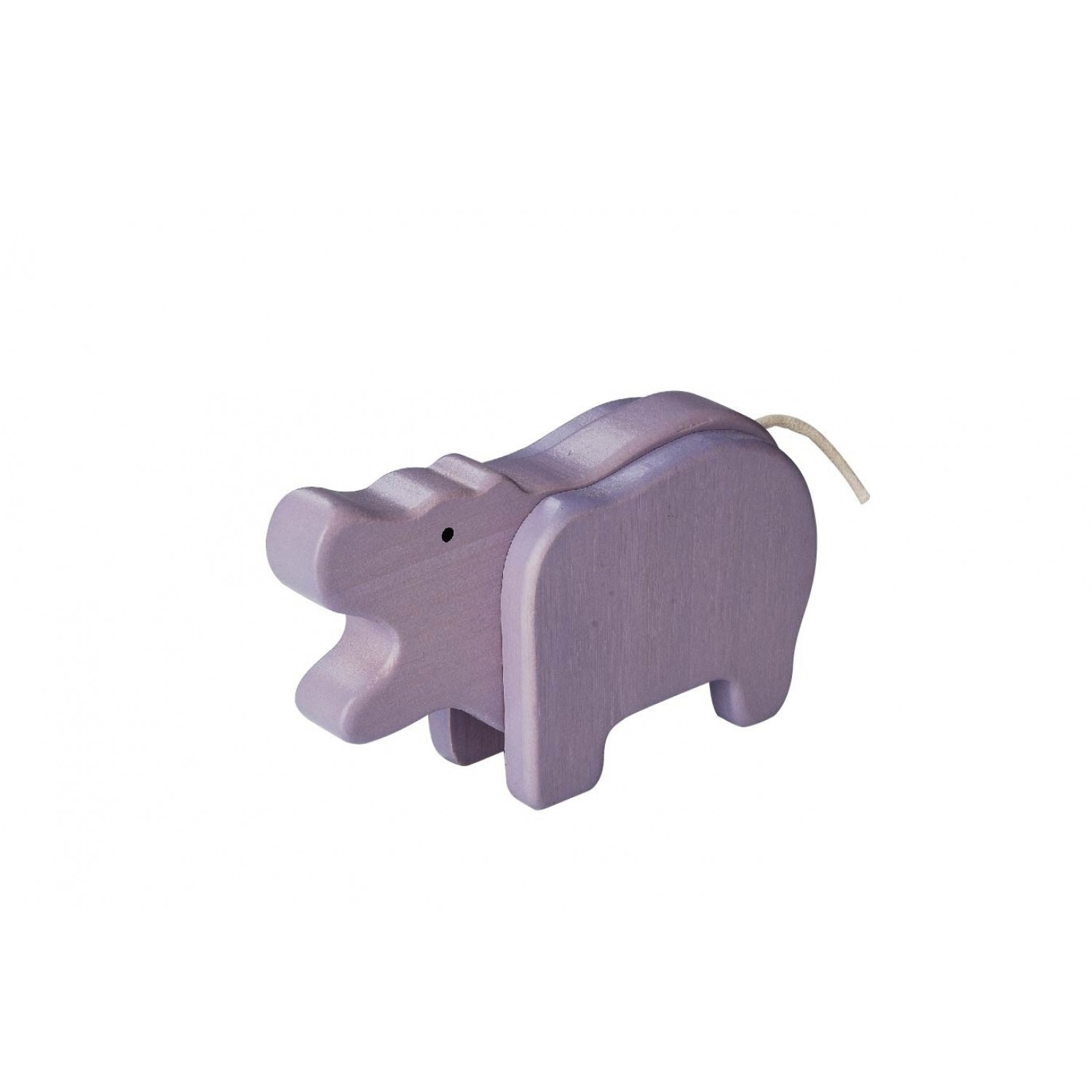 EverEarth Hippo - FSC® Bamboo eco wooden toy