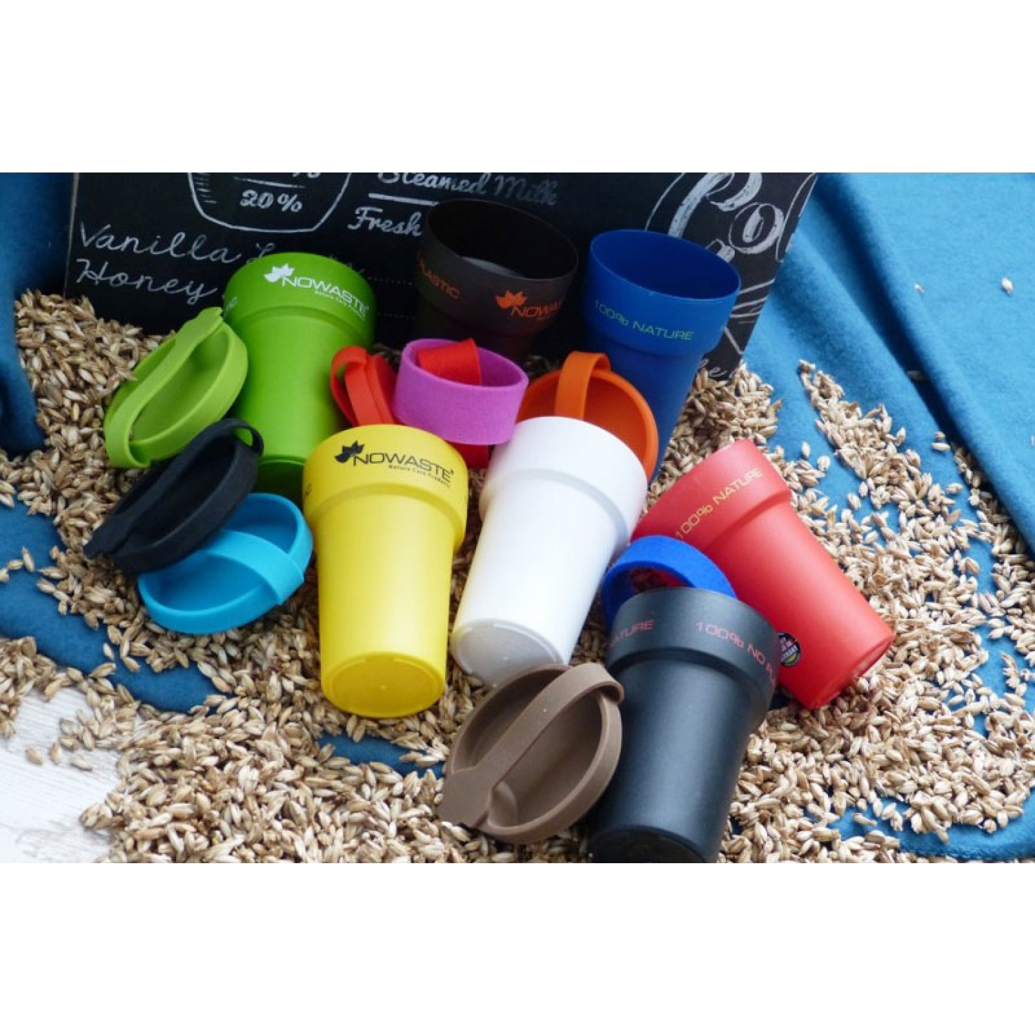 Eco Drinking Cup - Treecup 300 – many colours | Nowaste