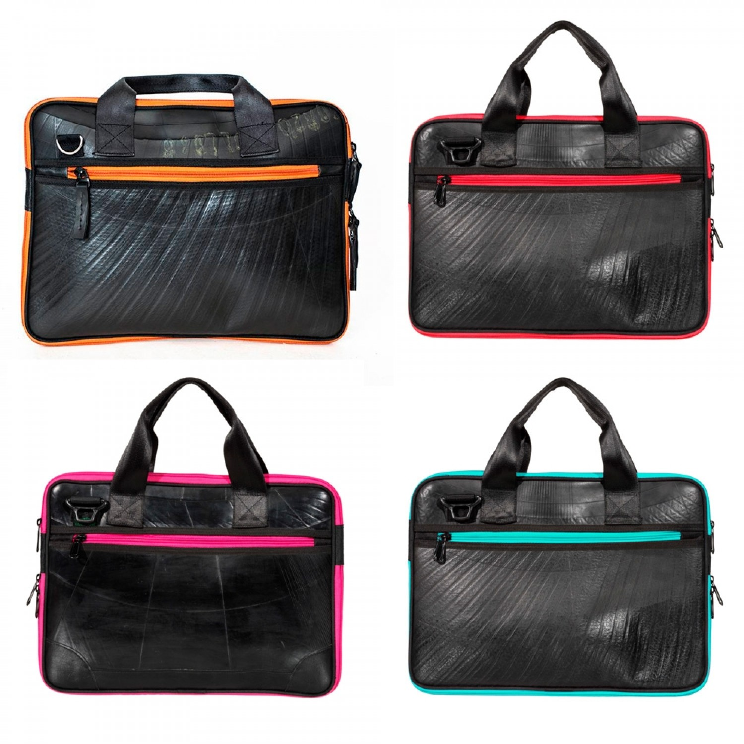 Ecowings Panther Laptop Bag & recycled Shoulder Bag