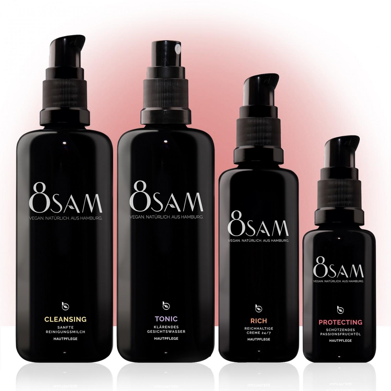 8SAM Rich Protecting – vegan Facial Care Set No2