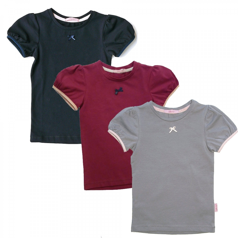 Langarmshirt, 2er Pack, für Mädchen