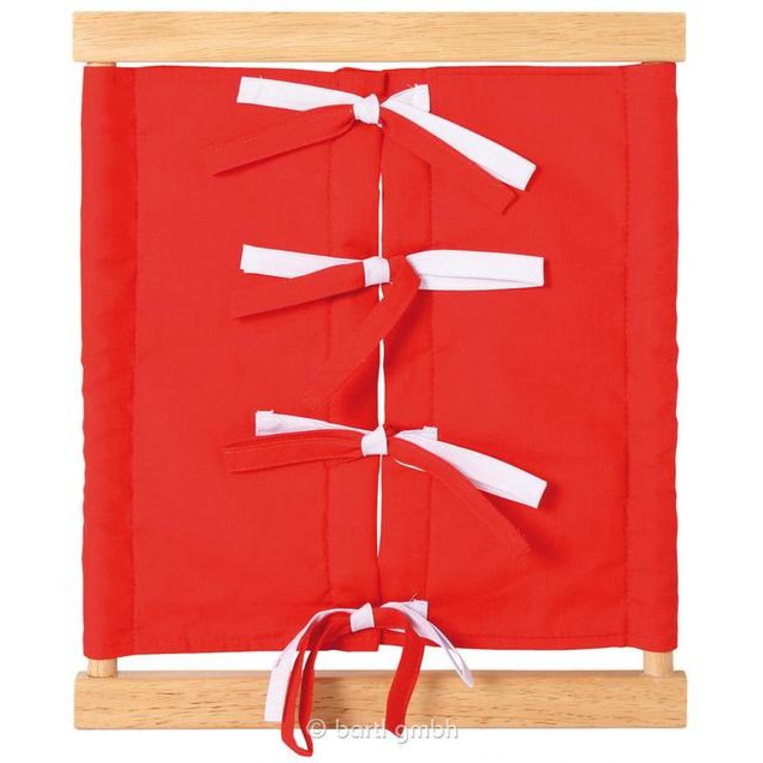 Montessori Learn to Bow Tying Closure Dressing Frame | Bartl