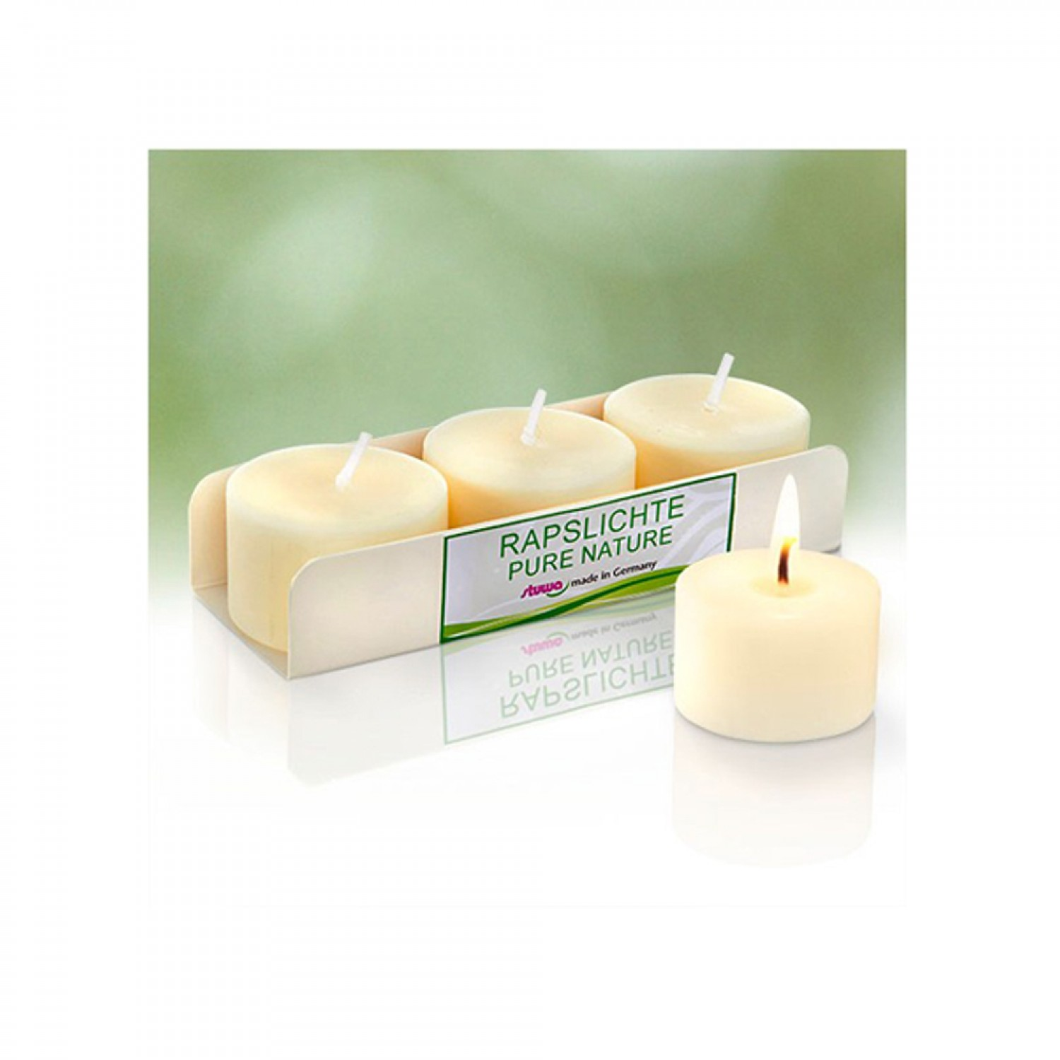 Set of Rape Light for glasses: candles without scent   stuwa