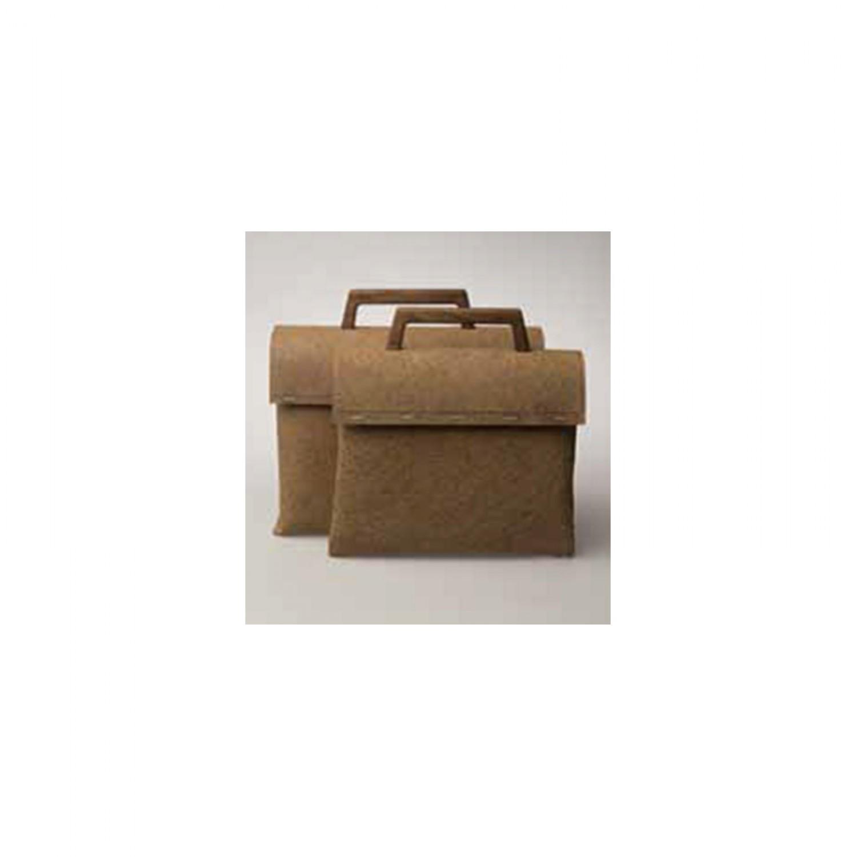 reWrap Tree Bag Briefcase - natural materials