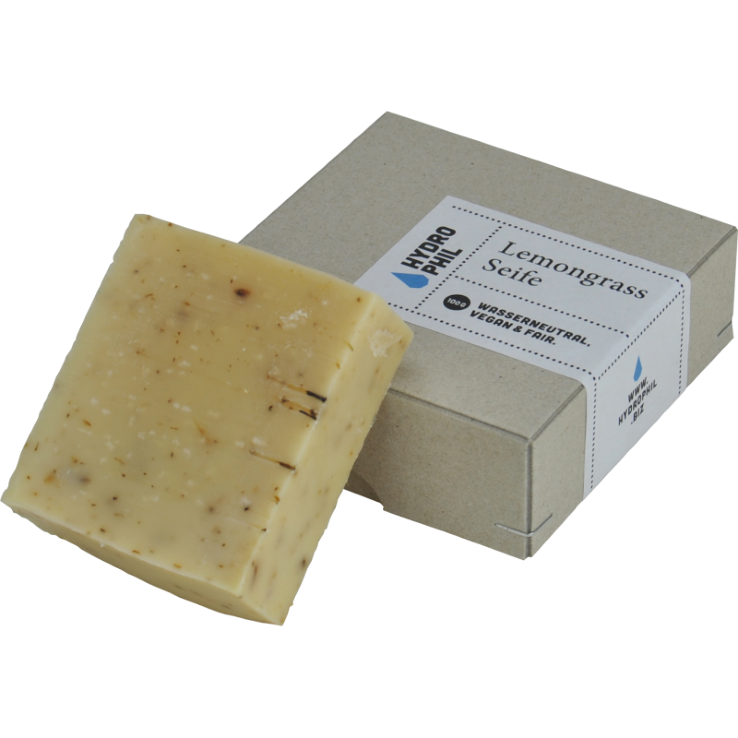 Vegan Fair Trade Soap Bar Lemongrass | Hydrophil