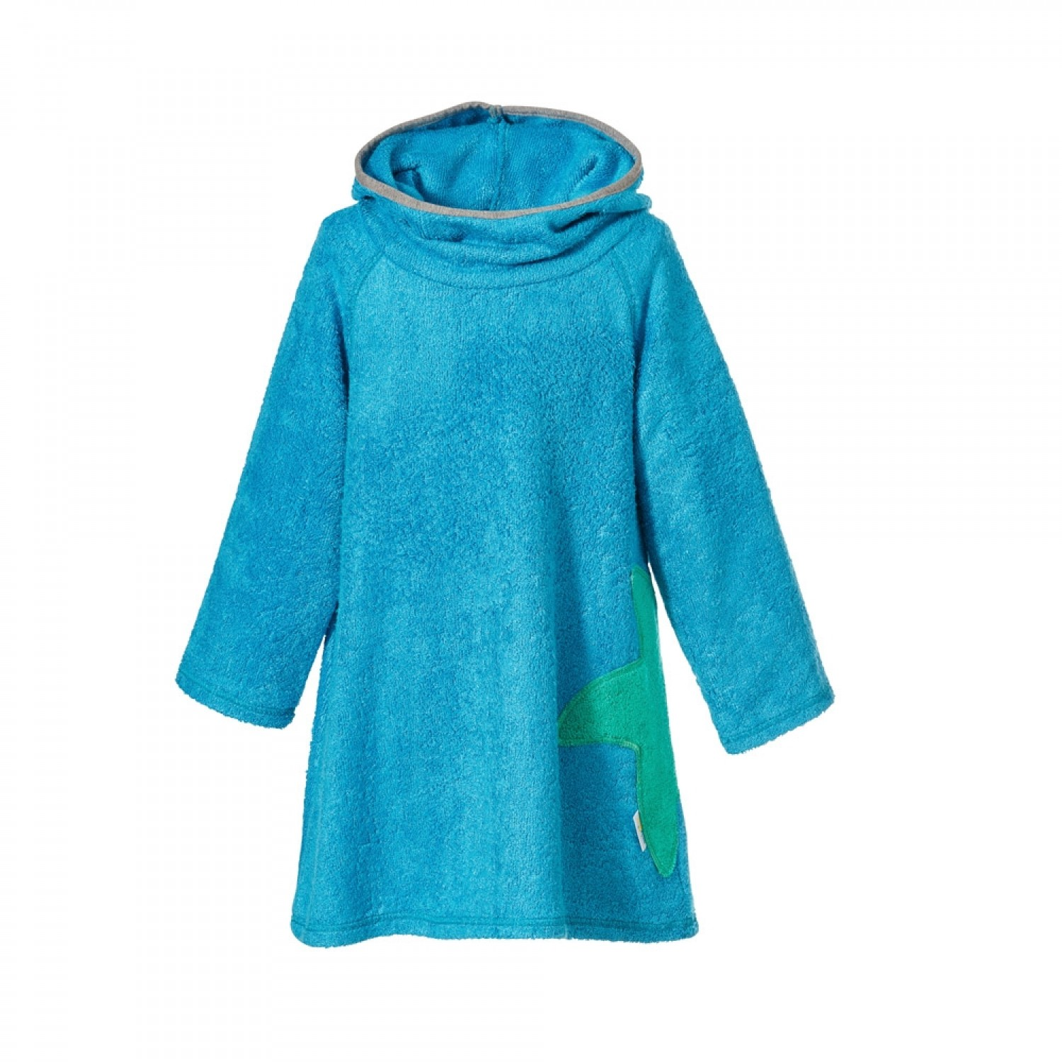 Terrycloth Dress of Bamboo in Caribbean Blue | early fish