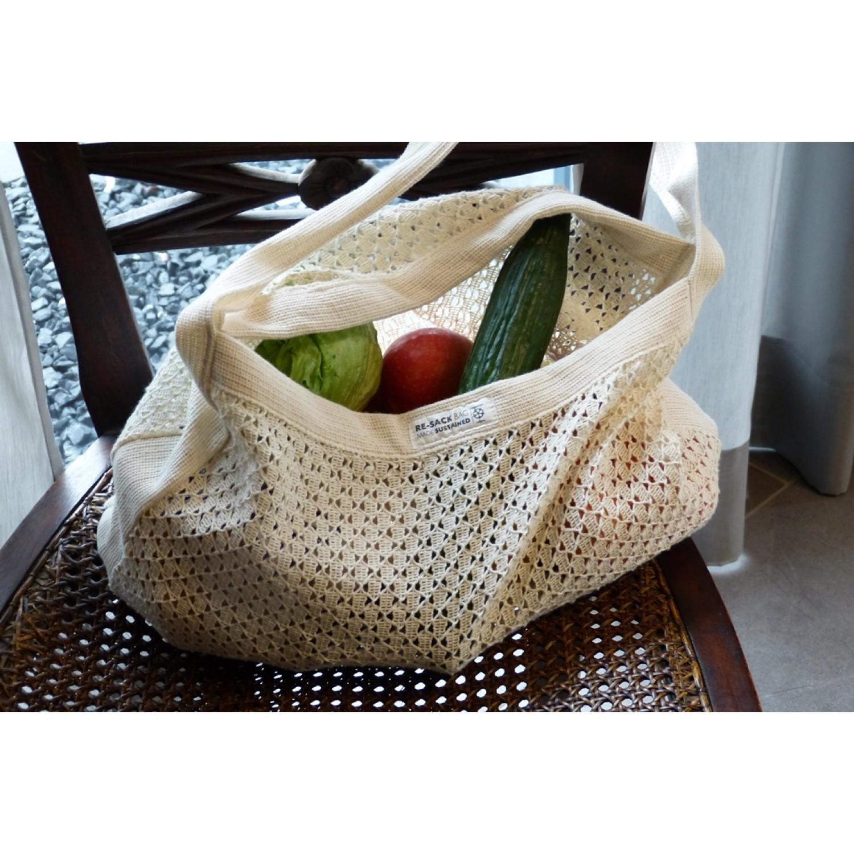 Re-Sack Einkaufstasche aus Bio-Baumwolle