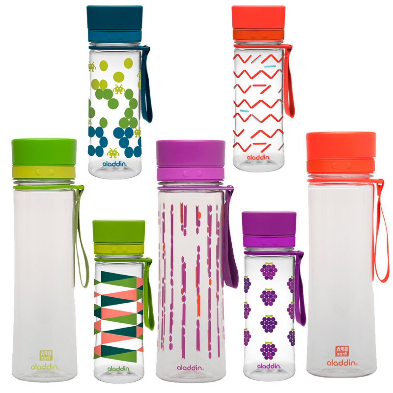 Trinkflasche AVEO 0,35 L & 0,6 L viele Designs | aladdin
