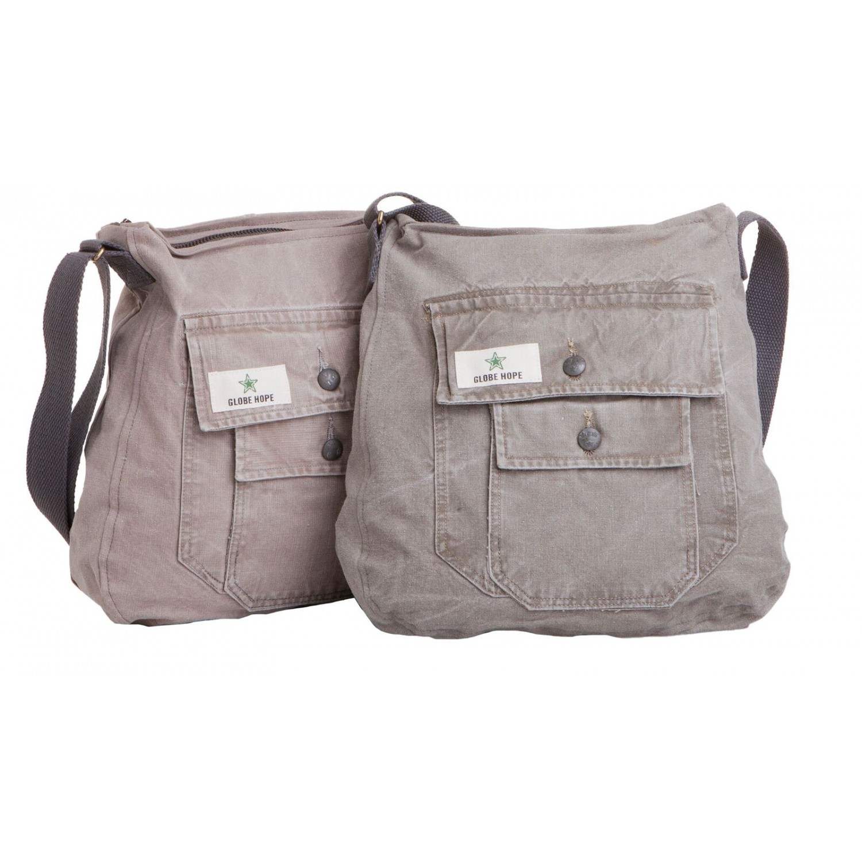Upcycling Shoulder Bag Vellamo | Globe Hope