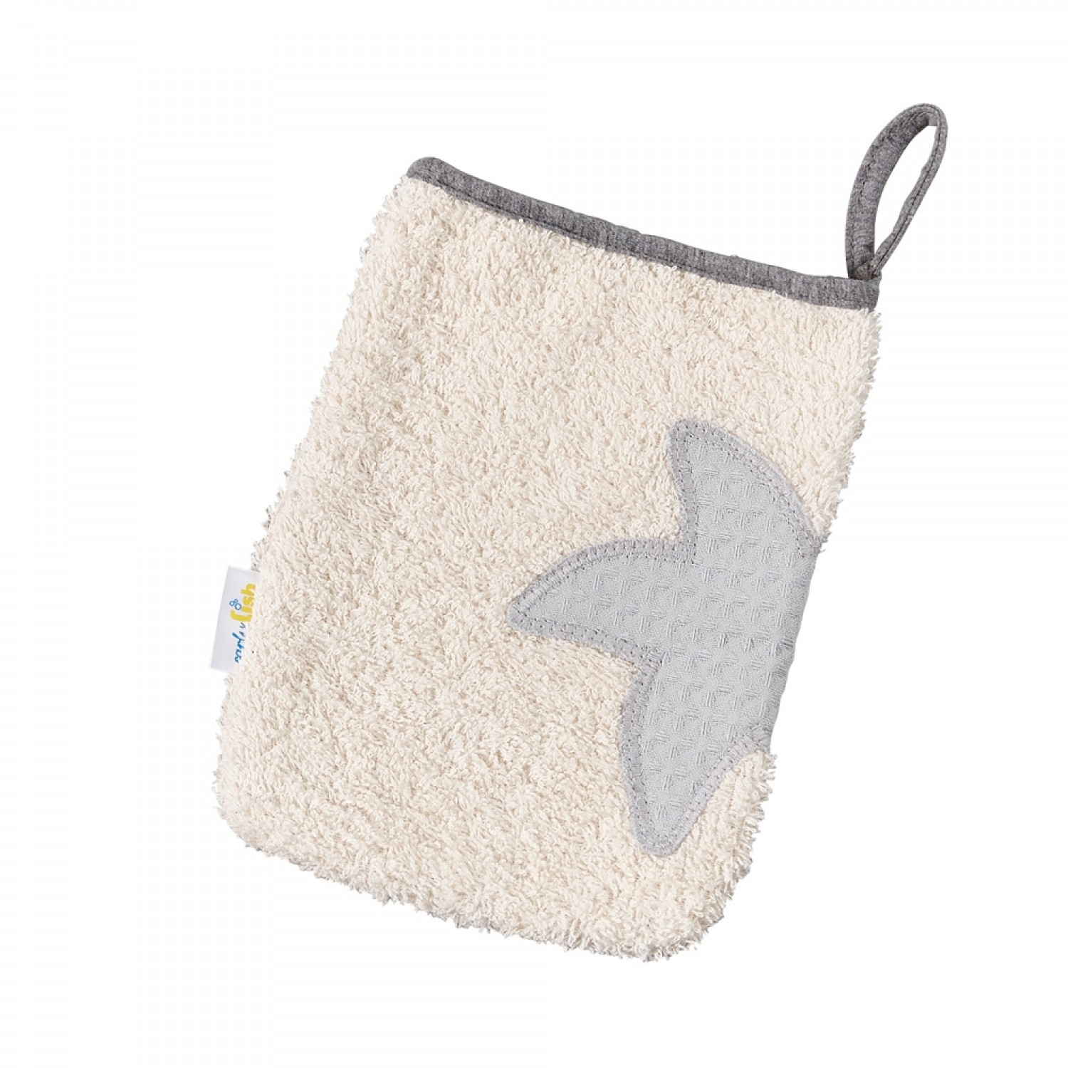 Eco Terrycloth Washrag Classic Natural | early fish