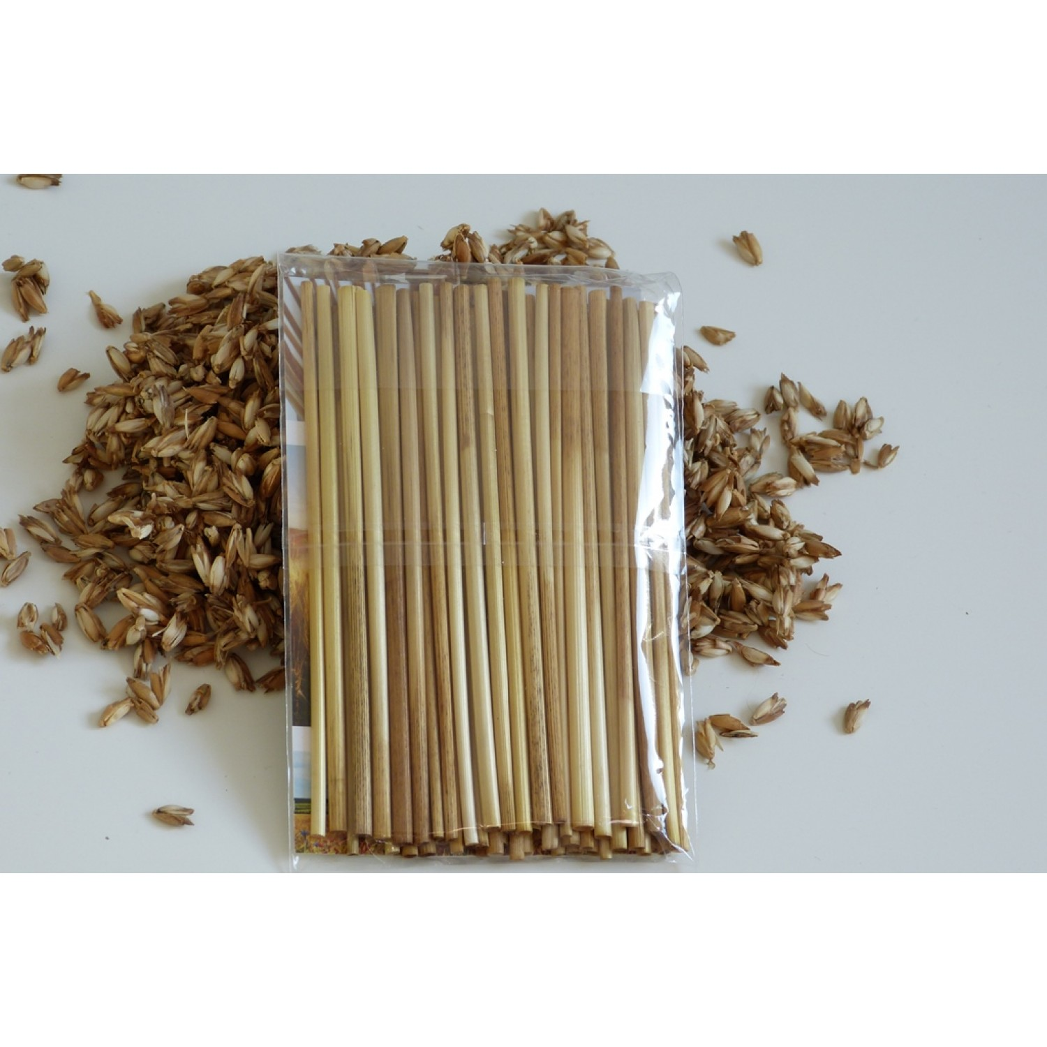 Eco Drinking Straw of organic rye - 2500 pieces