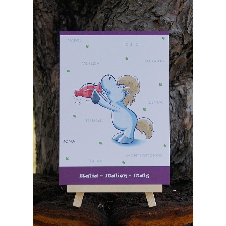 Postkarte - Weltreise - Italien