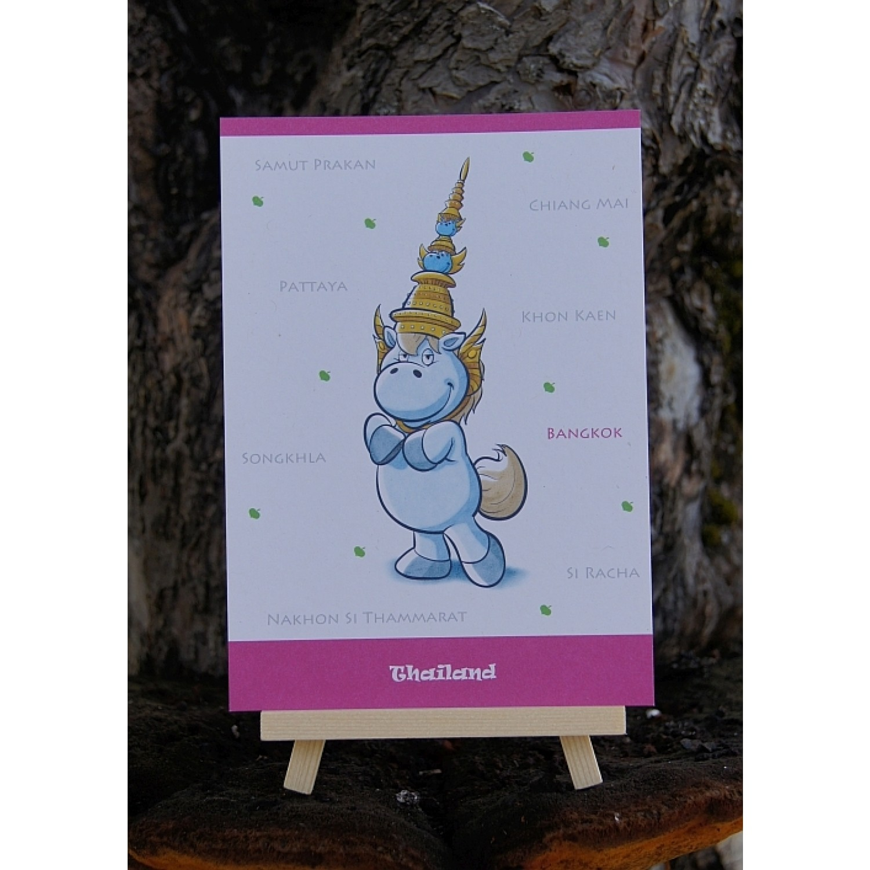 Postkarte - Weltreise - Thailand