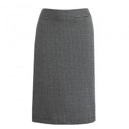 Pied De Poule Pencil Skirt Organic Jersey Billbillundbill