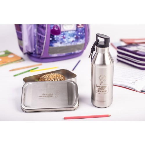 Eco-friendly starting school gift bundle - lunch box & bottle » Tindobo