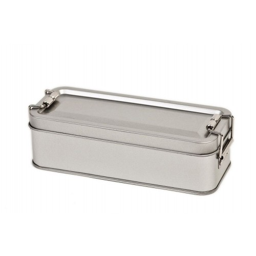 Eco Snap-on lid Storage Tin with swing stopper » Tindobo
