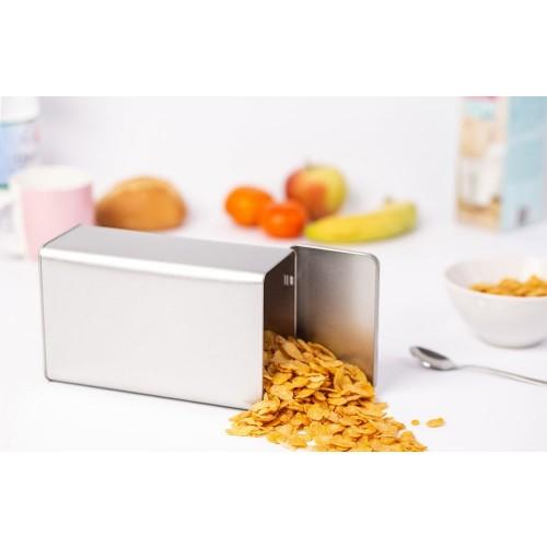 Classic rectangular hinged lid Food Storage Tins 1825 ml/64 oz » Tindobo