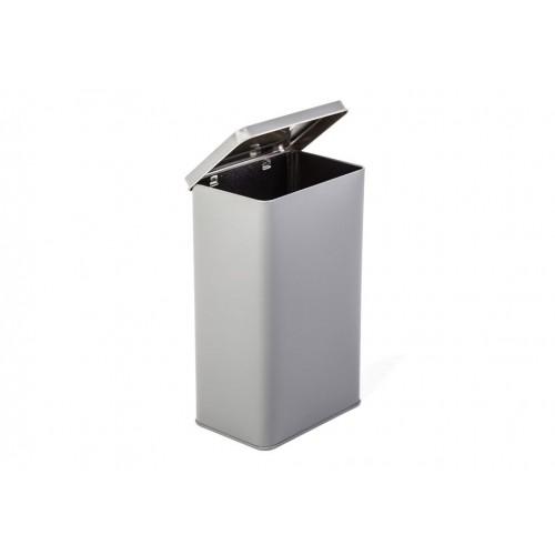 Noble rectangular hinged lid Food Storage Tins 1825 ml/64 oz » Tindobo