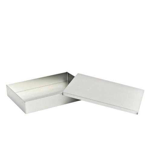 Tindobo Rectangular Tin Storage Container