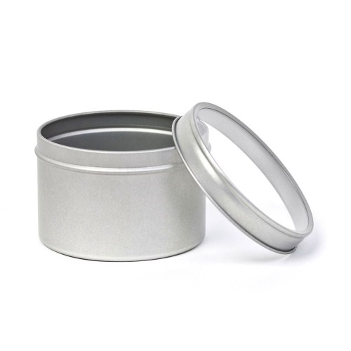 Spice & Herbs Clear Top Lid Storage Tin 200 ml /7oz » Tindobo
