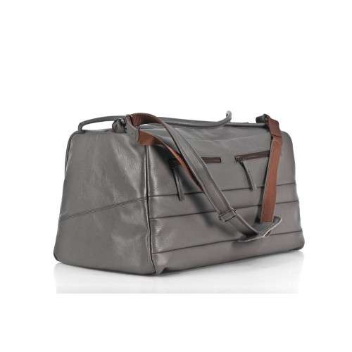 Große Reisetasche Sporttasche Ledertasche