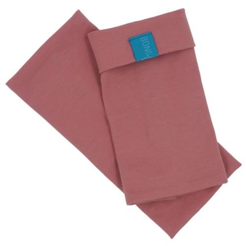 Arm Warmers, Organic Cotton Jersey old pink » bingabonga