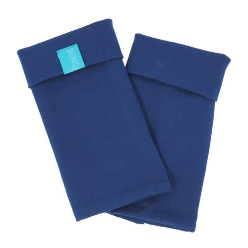 Arm Warmers, Organic Cotton Jersey Royal Blue » bingabonga