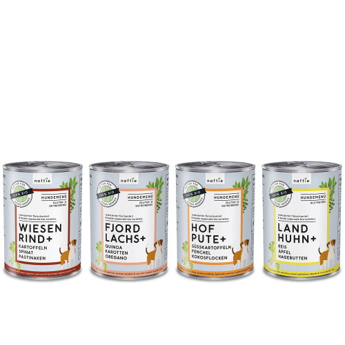 naftie Organic Dog Food Trial Bundle Wet Food 4 pack