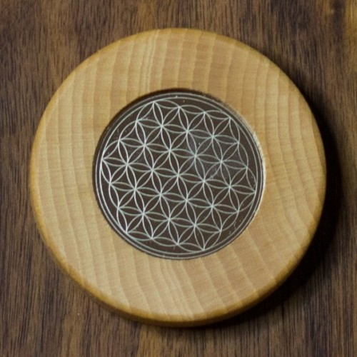 Magnets Flower of Life colourless | Living Designs