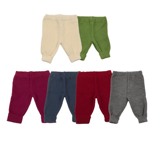 Organic Cotton Baby& Toddlers Leggings with knit cuffs | Reiff